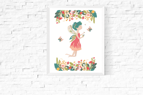 Garden Fairy Art Printable