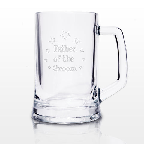 Father of the Groom Stern Tankard Gift