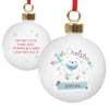 First Christmas Bauble UK
