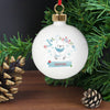Personalised Polar Bear My 1st Christmas Bauble