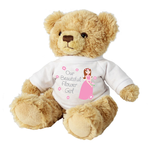 Fabulous Flower Girl Teddy Bear Present