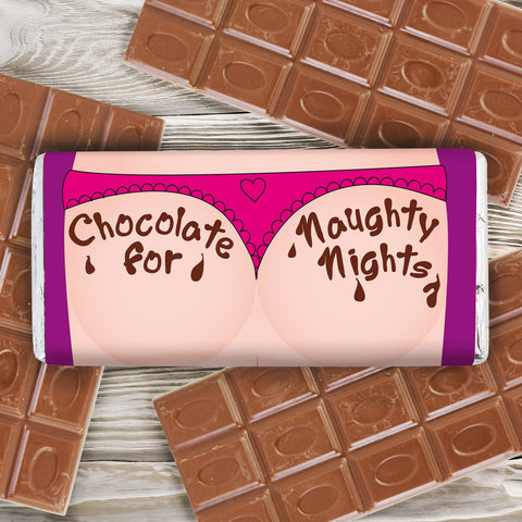 Personalised Naughty Nights Chocolate Bar