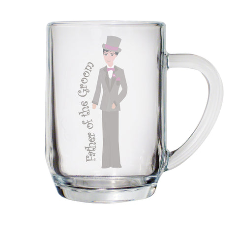 Fabulous Father of Groom Tankard Gift
