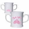 Bootee Loving Mug Pink Its a Girl Gift