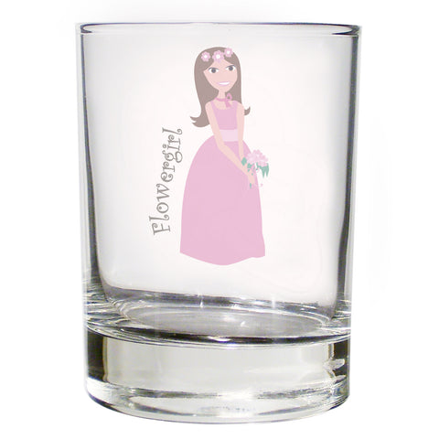 Fabulous Juice Glass Flowergirl Gift