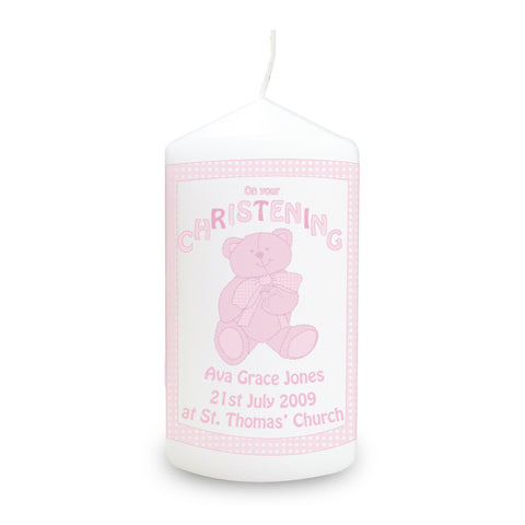 Girl Christening Gifts Candle