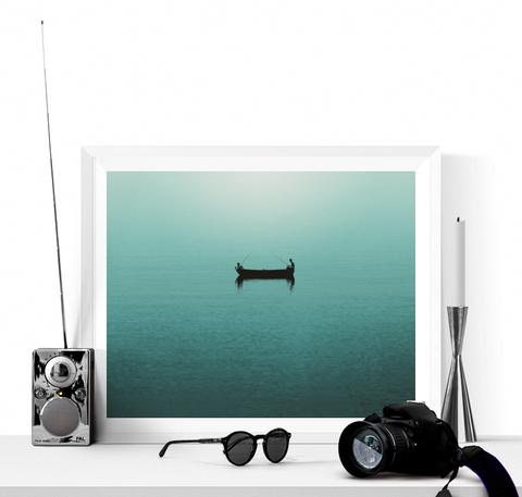 Gone Fishing Photograph Printable