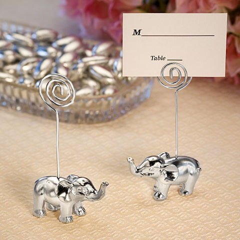 Good Luck Elephant Place Card Holders 6PK