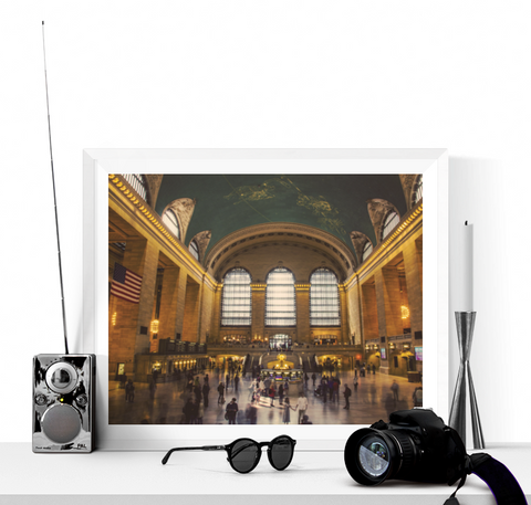 Grand Central Station New York Print