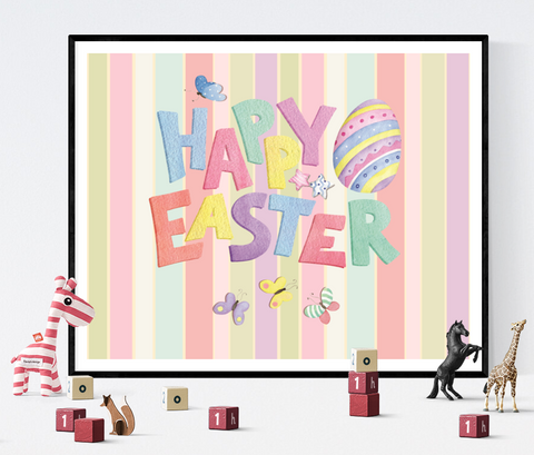 Happy Easter Printable Decoration