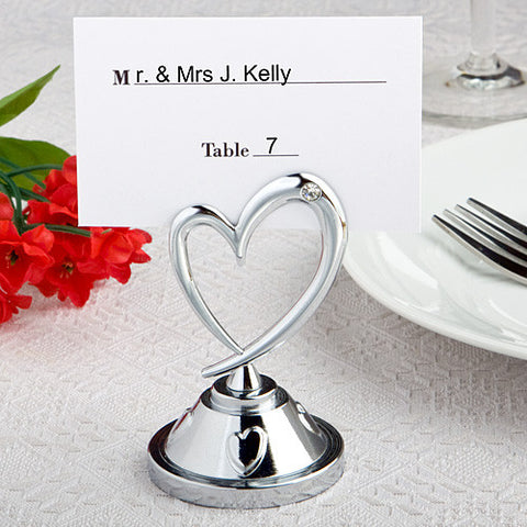 Heart Place Card Holders 6PK