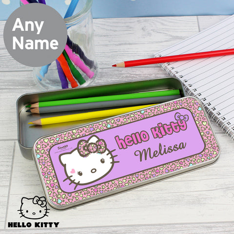 Hello Kitty Pencil Tin