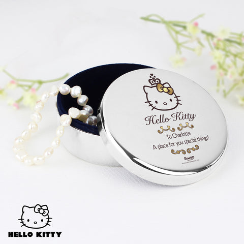 Personalised Hello Kitty Chic Trinket Box