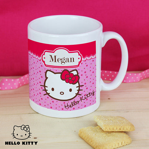 Personalised Hello Kitty Mug