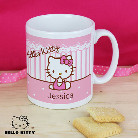 Personalised Hello Kitty Plastic Mug