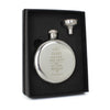 Hip Flask Engraved UK