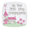 Pink First Holy Communion Church Plate