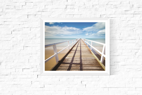 Jetty on a Sunny Day Photograph Printable