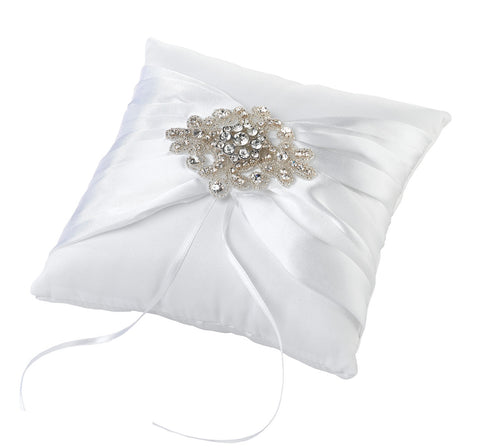 Jewelled Ring Bearer Cushion