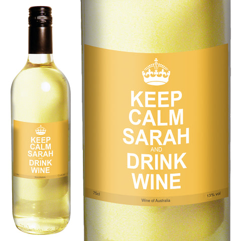 Keep Calm White Wine
