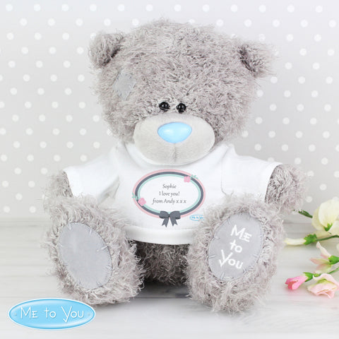 Personalised Me To You Teddy Bear
