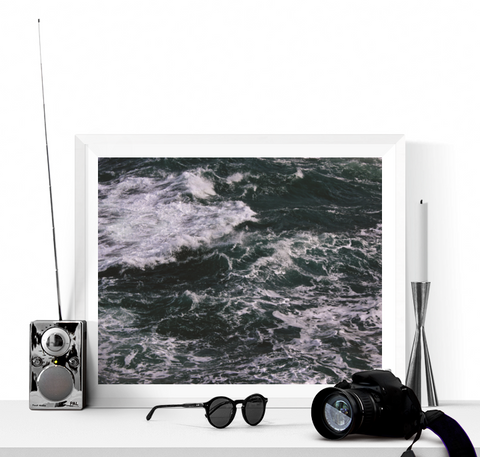 Waves Photograph Printable
