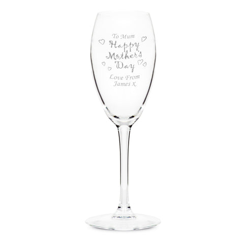 Personalised Happy Mother's Day Flute Gift