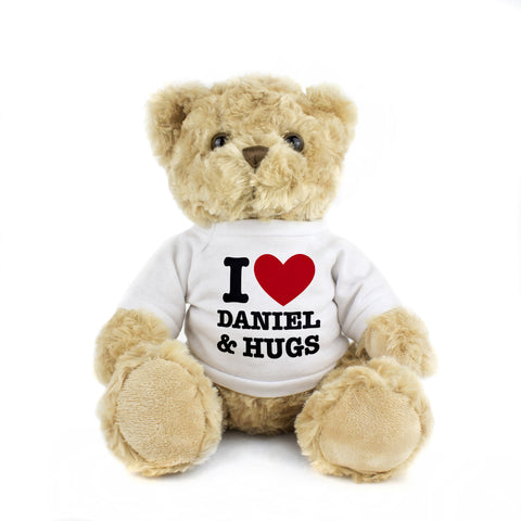 Personalised I HEART Teddy Gift