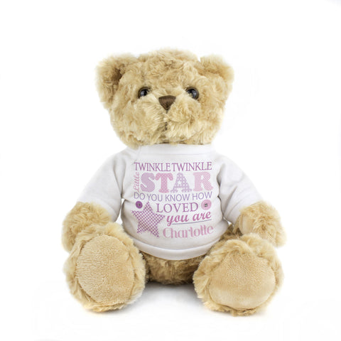 Twinkle Girls Teddy Gift