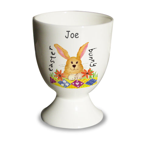 Personalised Easter Bunny Egg Cup Present