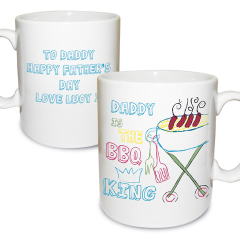 Personalised BBQ King Mug Gift