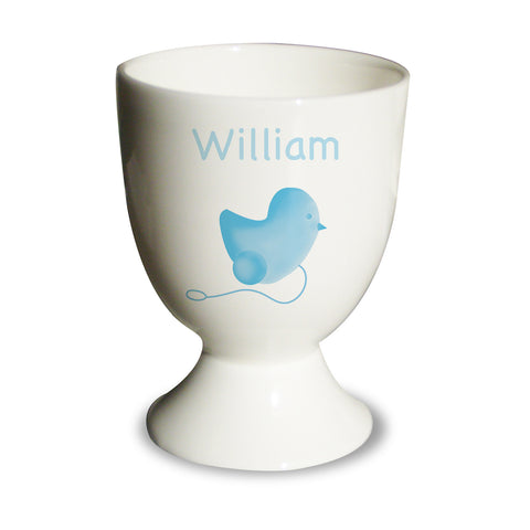 Blue Chick Egg Cup Gift