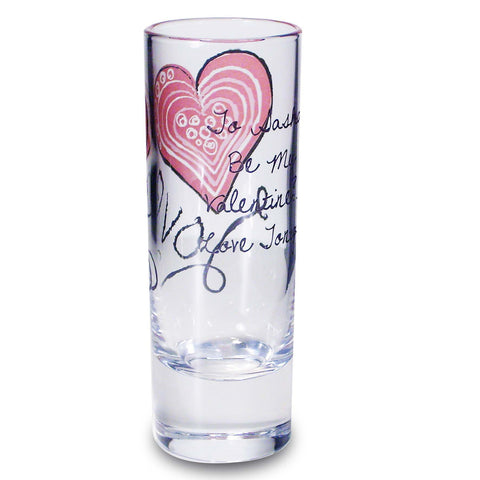 Personalised Love Shot Glass Gift