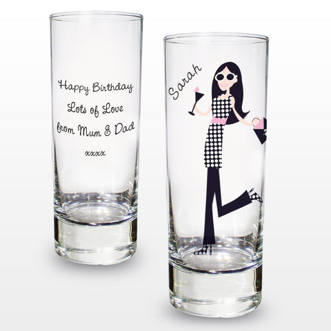 Personalised Fabulous Shot Glass Present