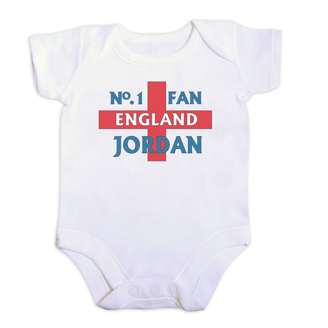 Personalised No 1 England Fan Vest Gift