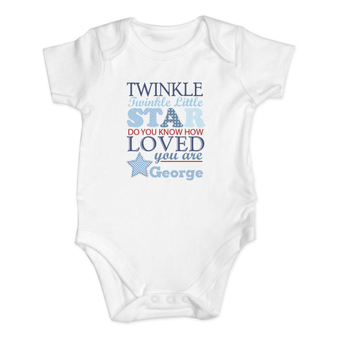 Twinkle Boys 9-12 Months Baby Vest Gift