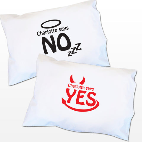 Angel/Devil Pillowcase Gift