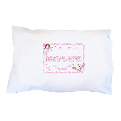 Personalised Fairy Letter Pillowcase Gift