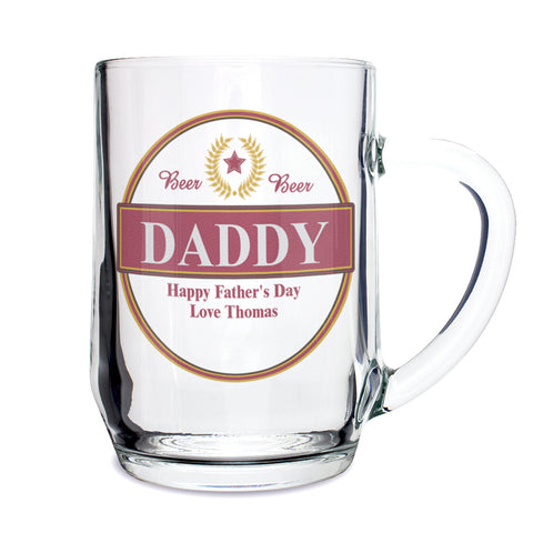 Personalised Luxury Tankard Present
