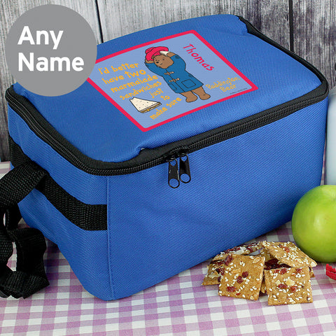 Personalised Paddington Bear Lunch Bag