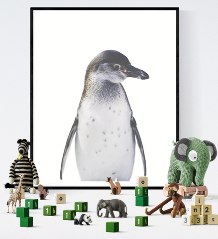 Penguin Art Printable