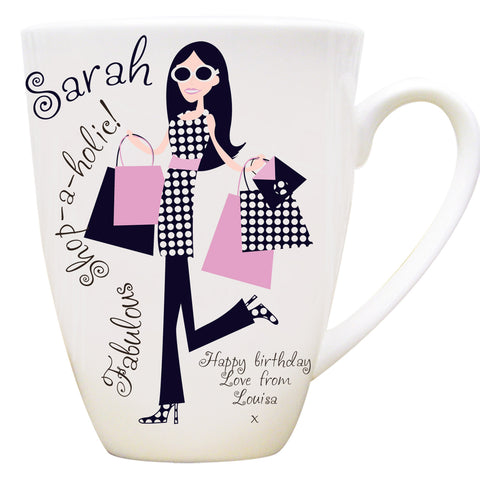 Personalised Latte Mugs