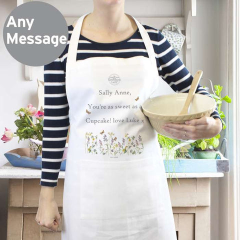 Personalised Country Diary Apron