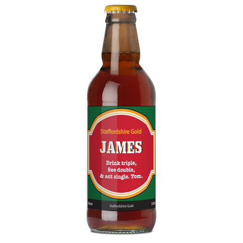Personalised Traditional Beer Gift