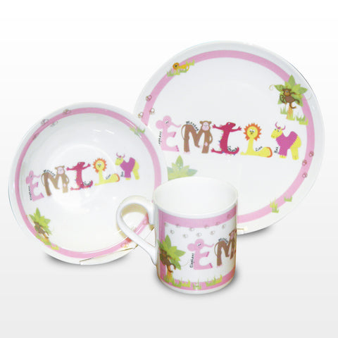 Personalised Breakfast Sets for Girls