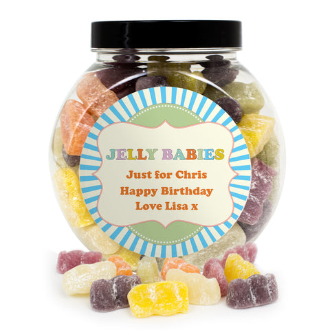 Personalied Jelly Babies