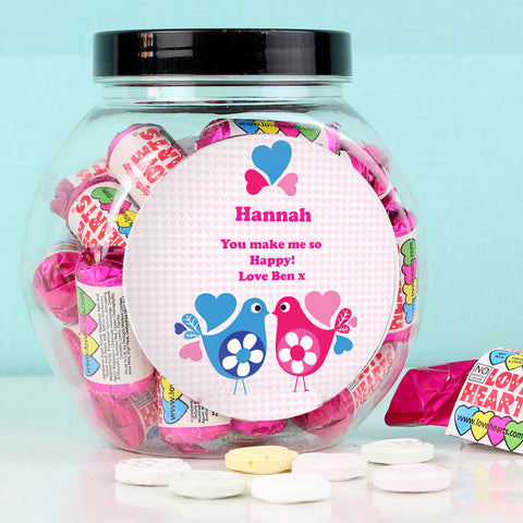 Personalised Love Hearts Sweets