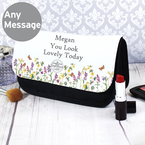 Personalised Country Diary Make Up Bag