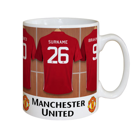 Personalised Manchester United Mug Gift