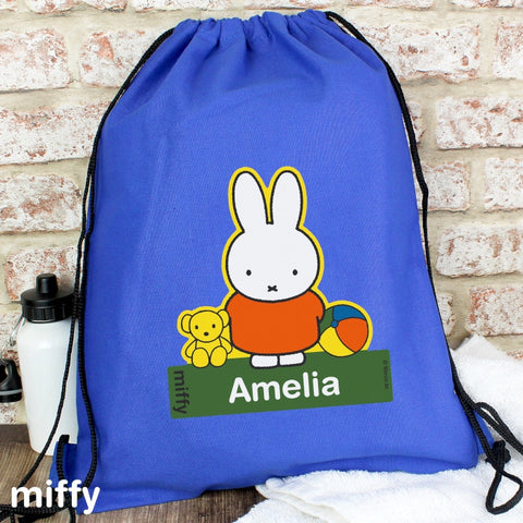 Personalised Miffy Swim and Kit Bag